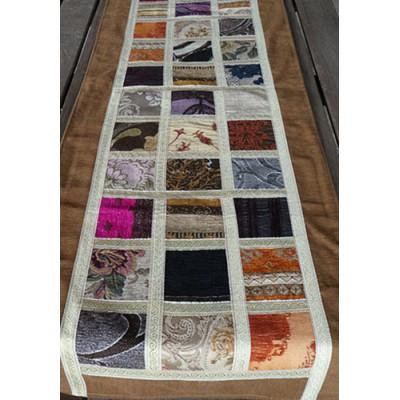 Camí de taula de patchwork turc