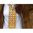 Collar tèxtil brodat Uzbek