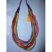 Silk necklace (VICENTE FERRER)